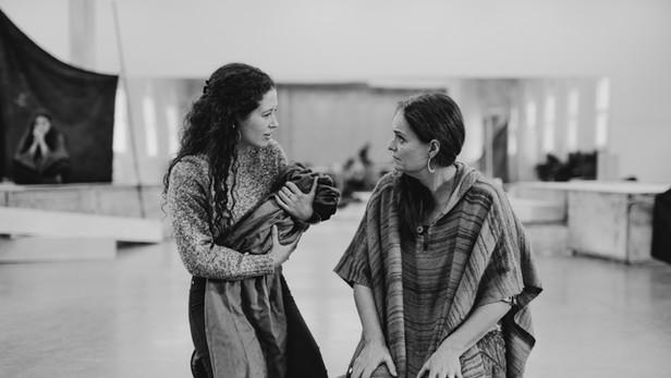 Women of Troy - rehearsal