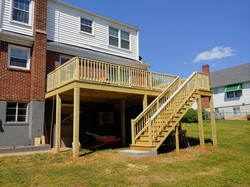 New deck for a new homeowner