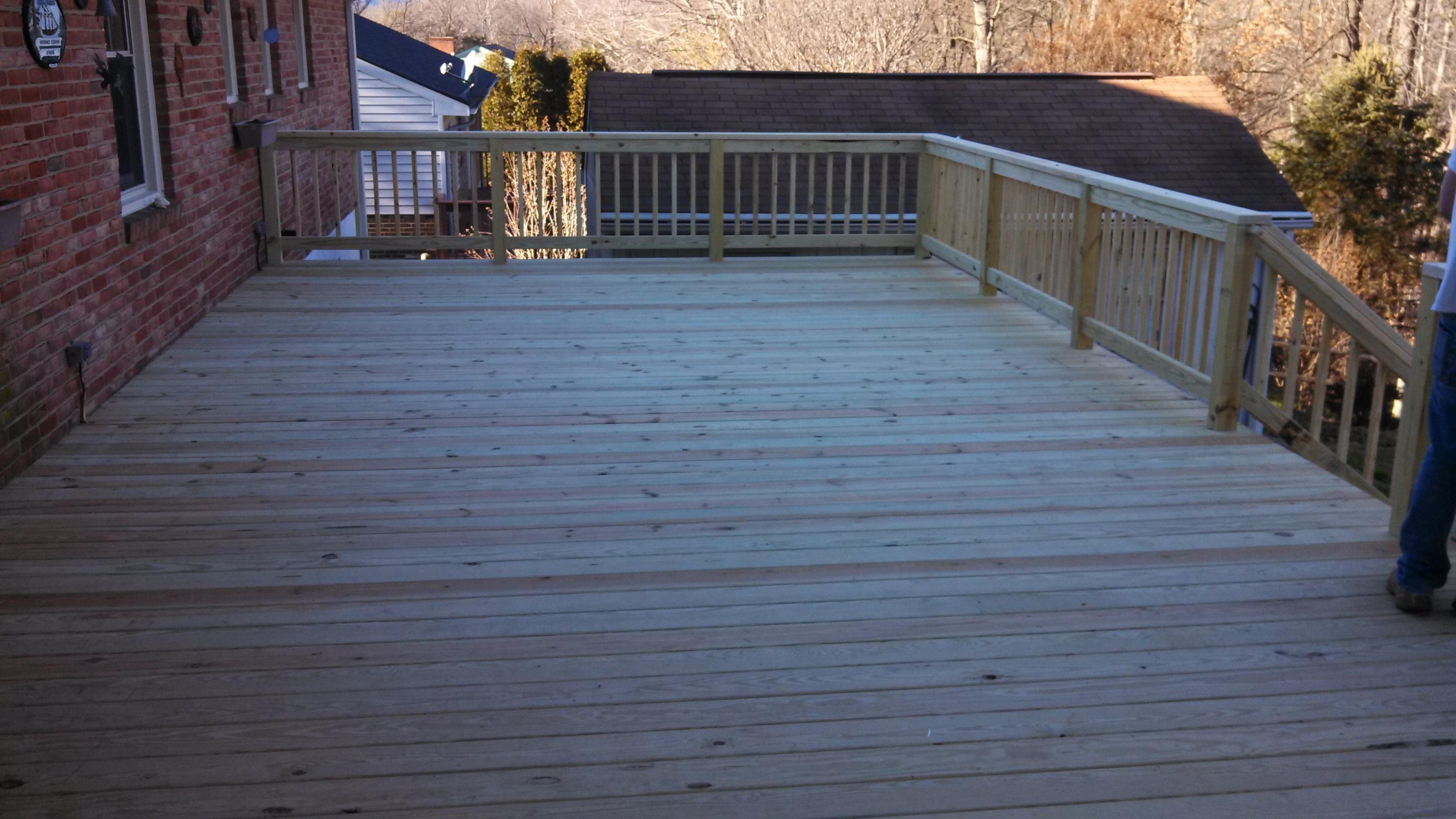 16x24 deck