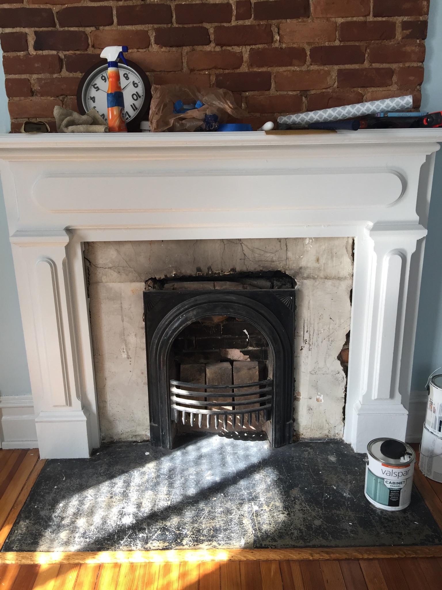 100 year old firebox