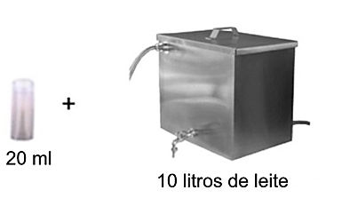 Fracionamento do fermento lácteo Etiel