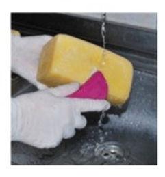 Lavar queijos