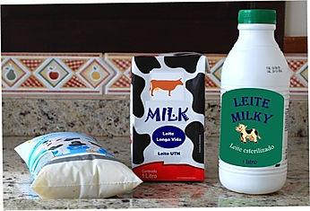 Leite - Matéria prima para fazer queijo