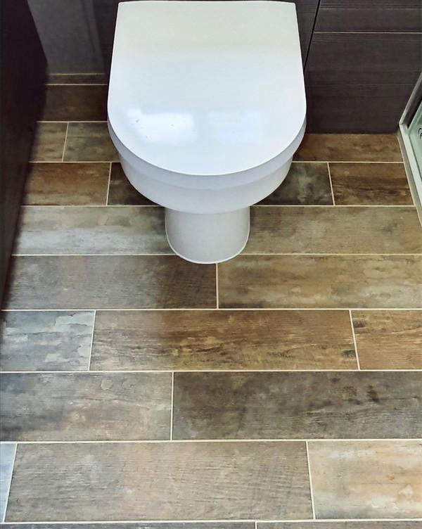 Toilet unit and flooring