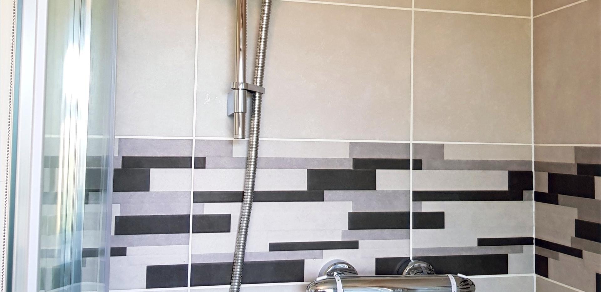 patterned decorative tiling