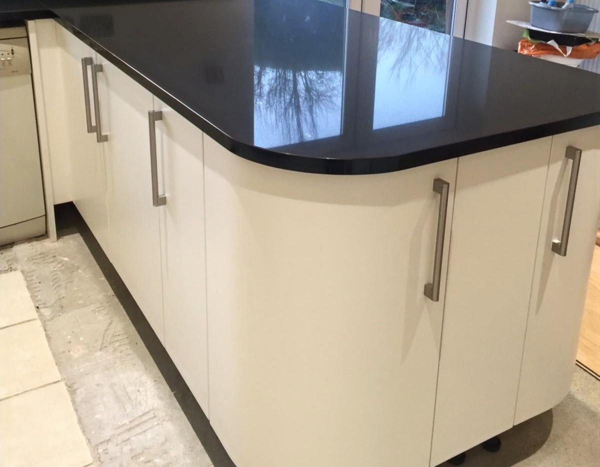 Kitchen island upgrade worktop