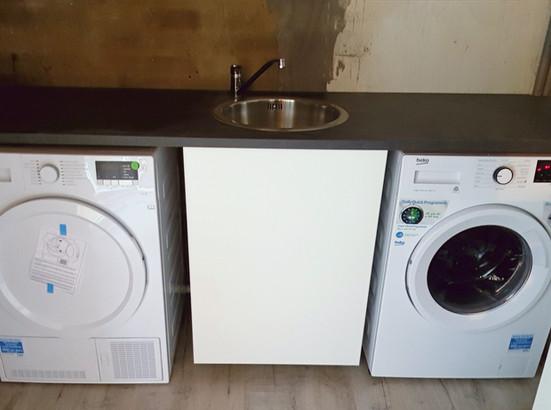 Utility room washing room dryer