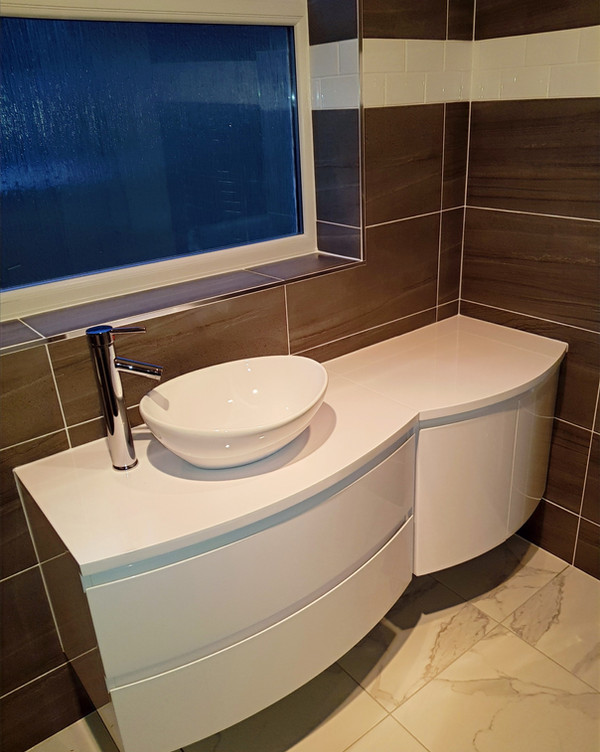Bathroom sink units tiling flooring