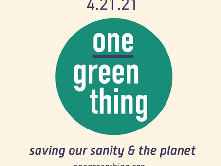 4.21.21 - Announcing OneGreenThing