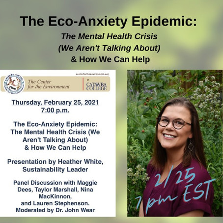 Is Eco-Anxiety Part of Modern Existence?