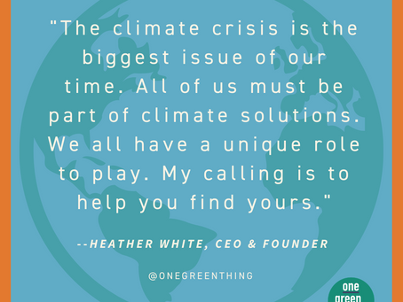 Your Role in Climate Action