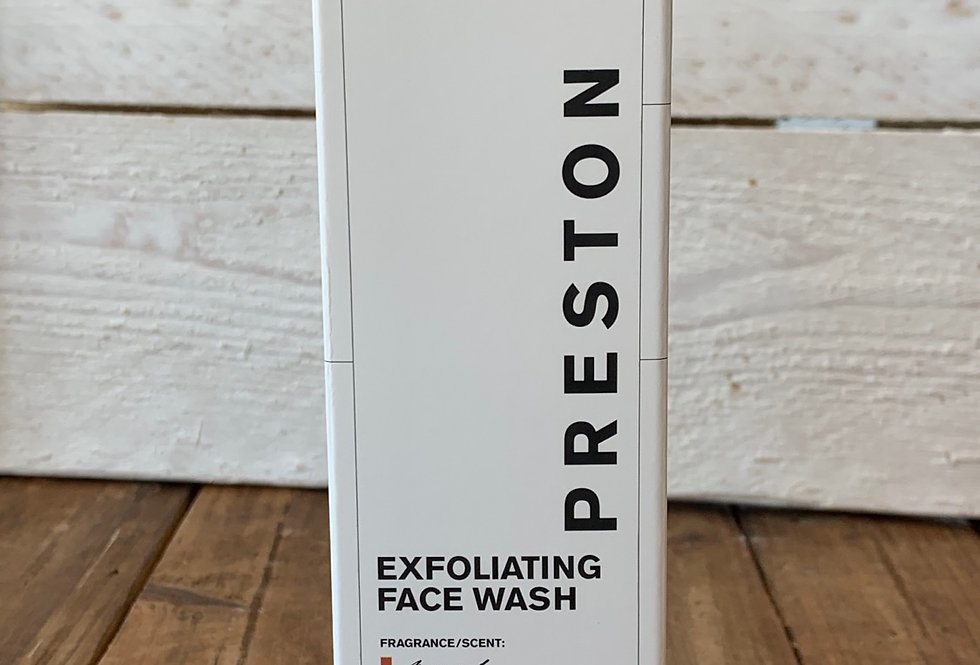 Preston Men's Line - Exfoliating Face Wash Nomad Scent