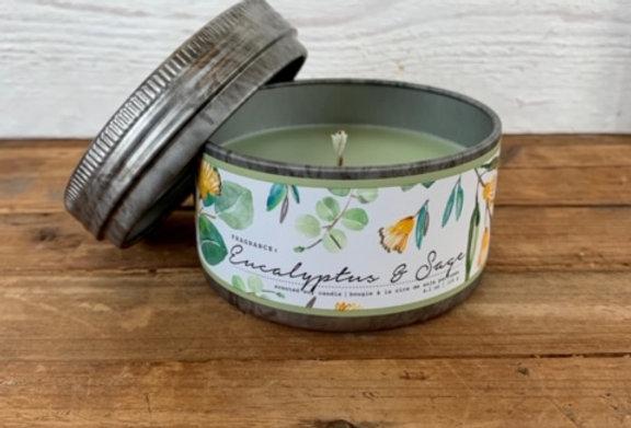Tried & True Eucalyptus & Sage Mini Candle