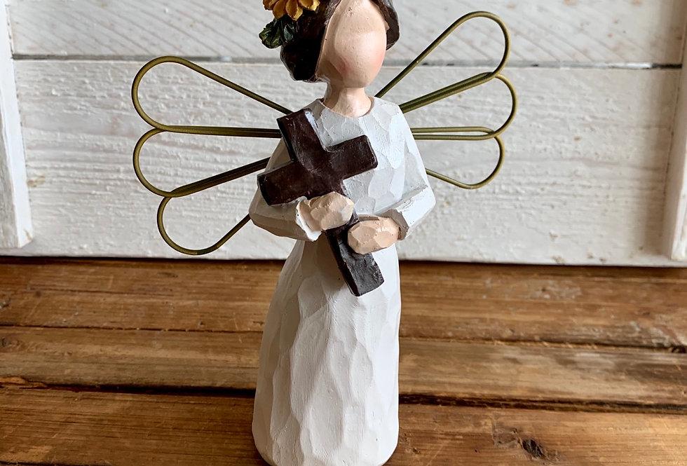 Fall Cross Angel