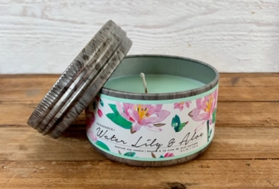 Tried & True Water Lily & Aloe Mini Candle
