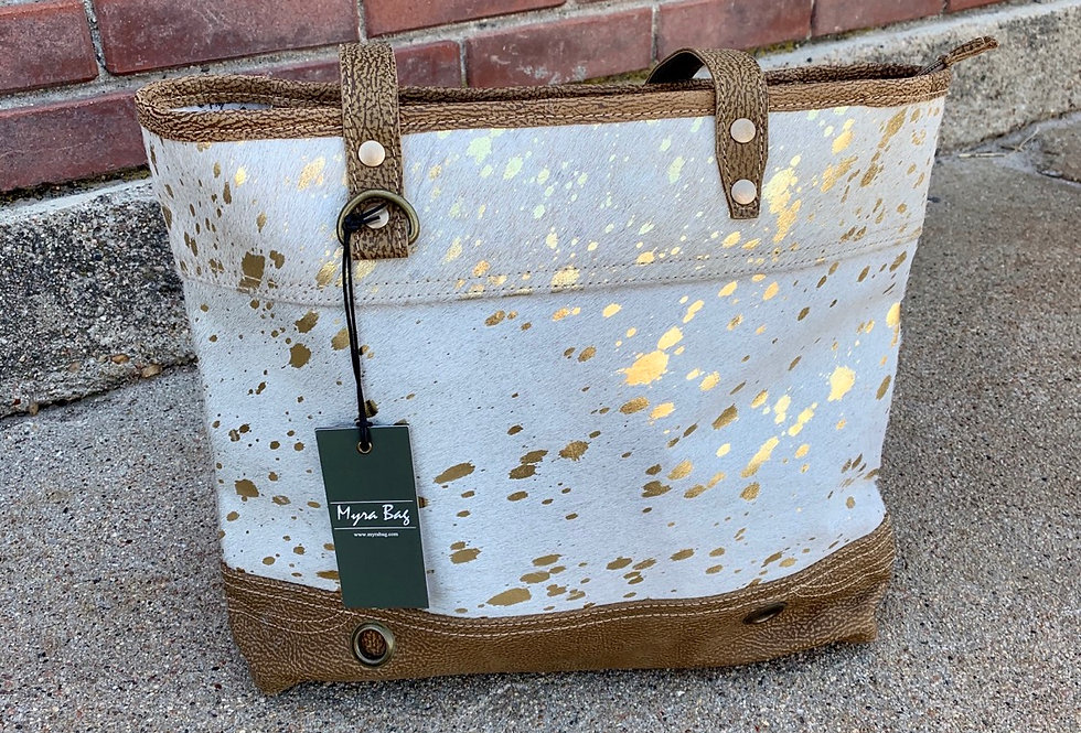Largish Leather Tote Bag