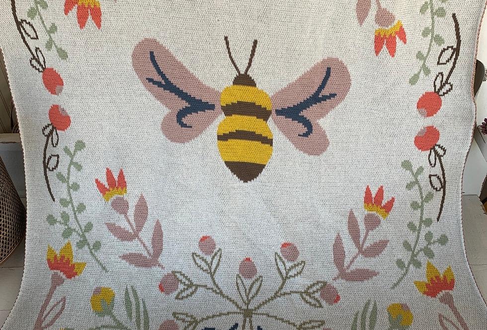 Cotton Bee Blanket