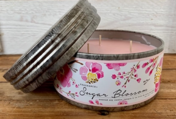 Tried & True Sugar Blossom Large Candle