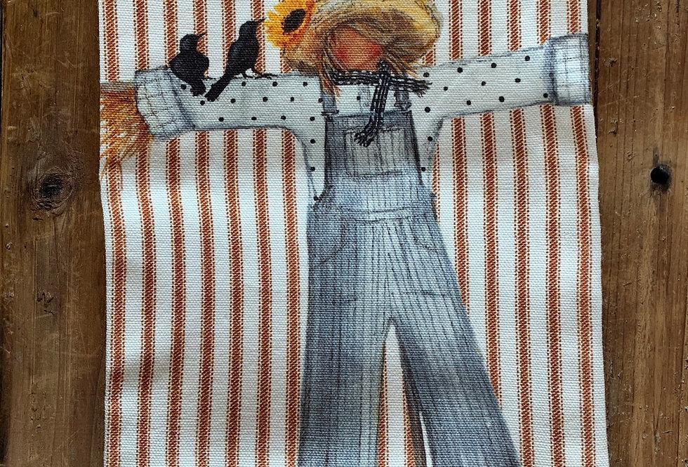 Scarecrow Decorative Towel