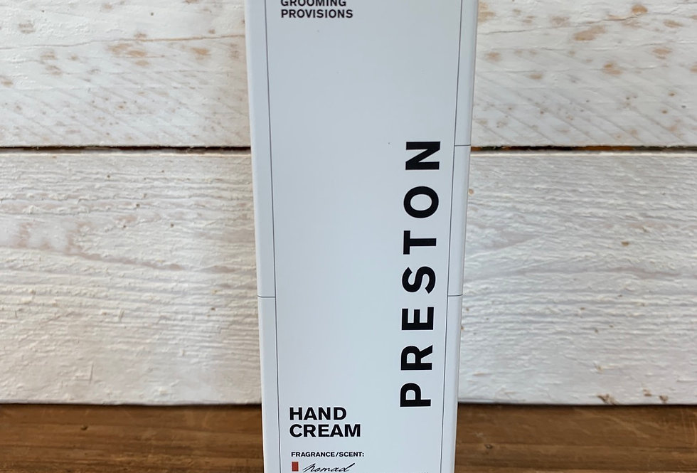 Preston Men's Line - Hand Cream Nomad Scent
