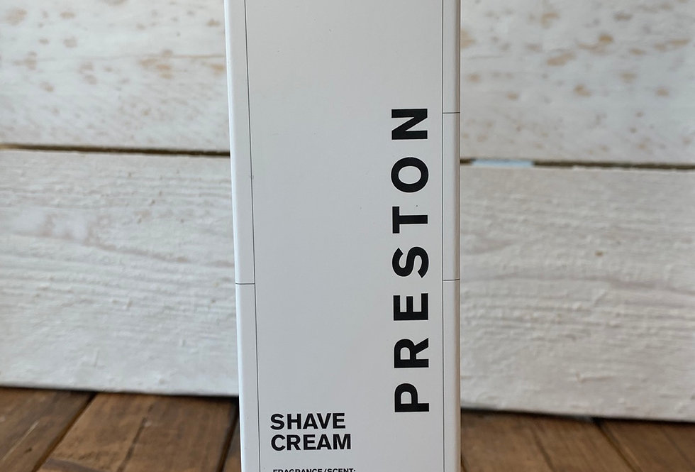 Preston Men's Line - Shave Cream Nomad Scented