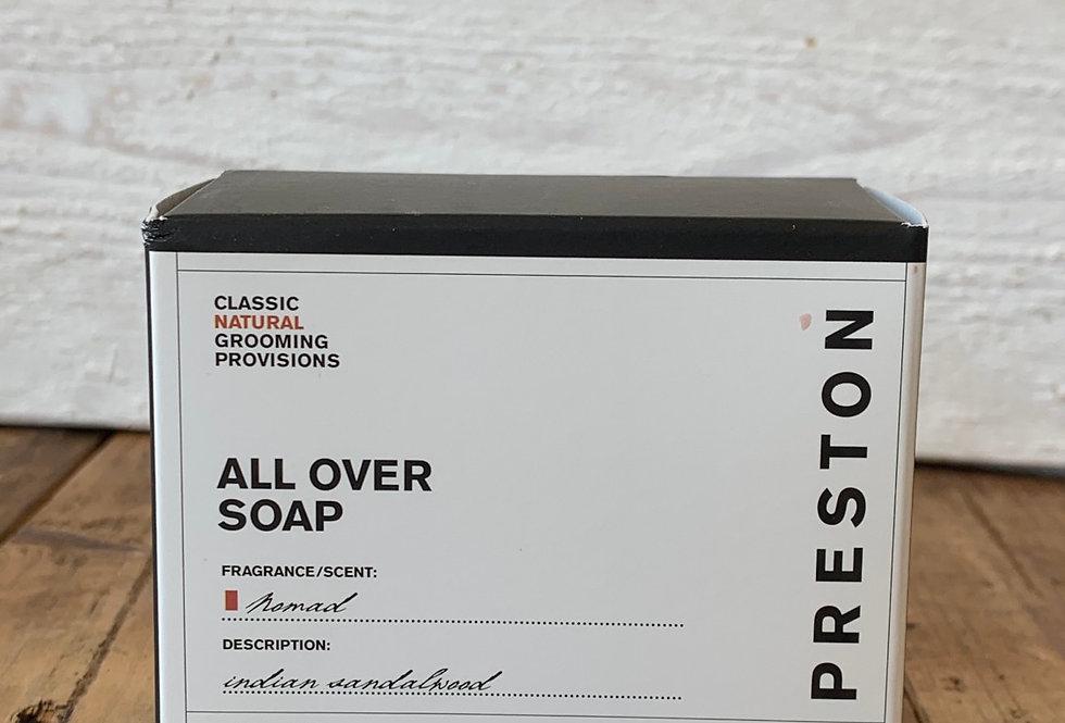 Preston Men's Line - All Over Soap Nomad Scent