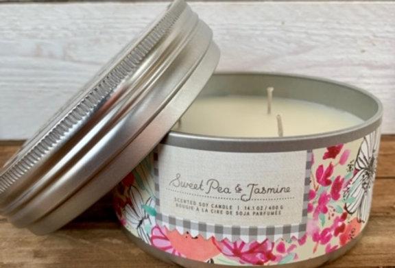 Tried & True Sweet Pea & Jasmine Large Candle
