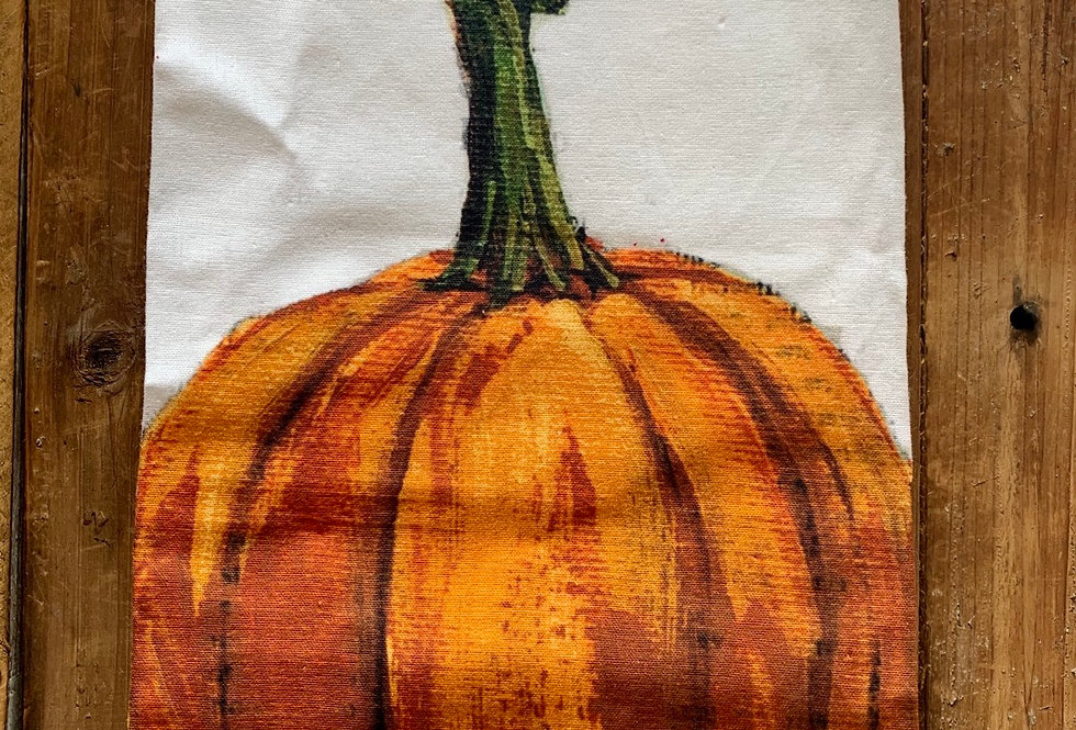 Pumpkin Decorative Towel