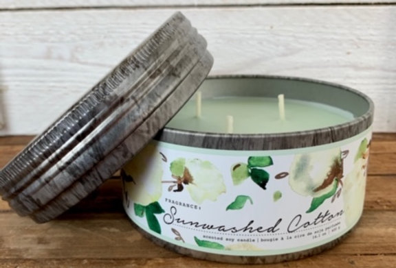 Tried & True Sunwashed Cotton Large Candle