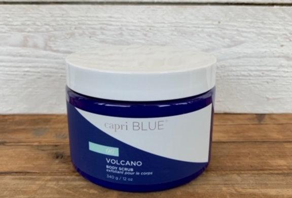 capri BLUE Volcano Body Scrub