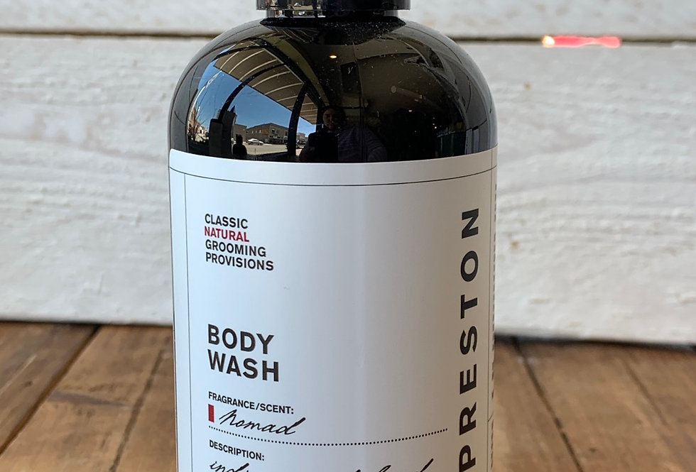 Preston Men's Line - Body Wash Nomad Scent