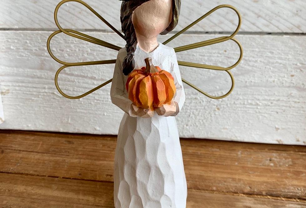 Fall Pumpkin Angel
