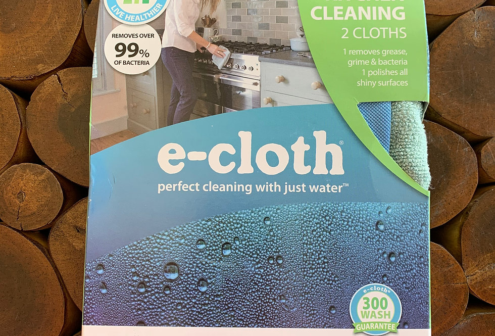 E-Cloth Kitchen Cleaning - 2 Cloths