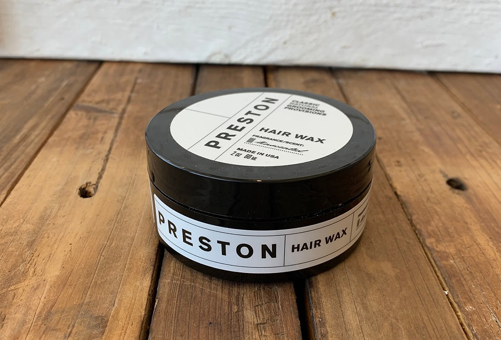 Preston Men's Line - Hair Wax