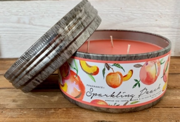 Tried & True Sparkling Peach Large Candle
