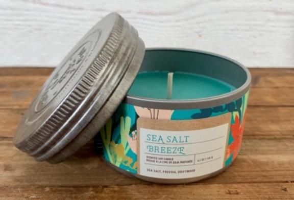 Tried & True Sea Salt Breeze Mini Candle