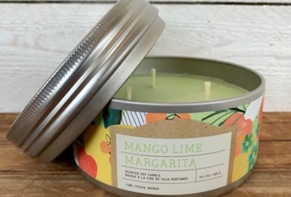 Tried & True Mango Lime Margarita Large Candle