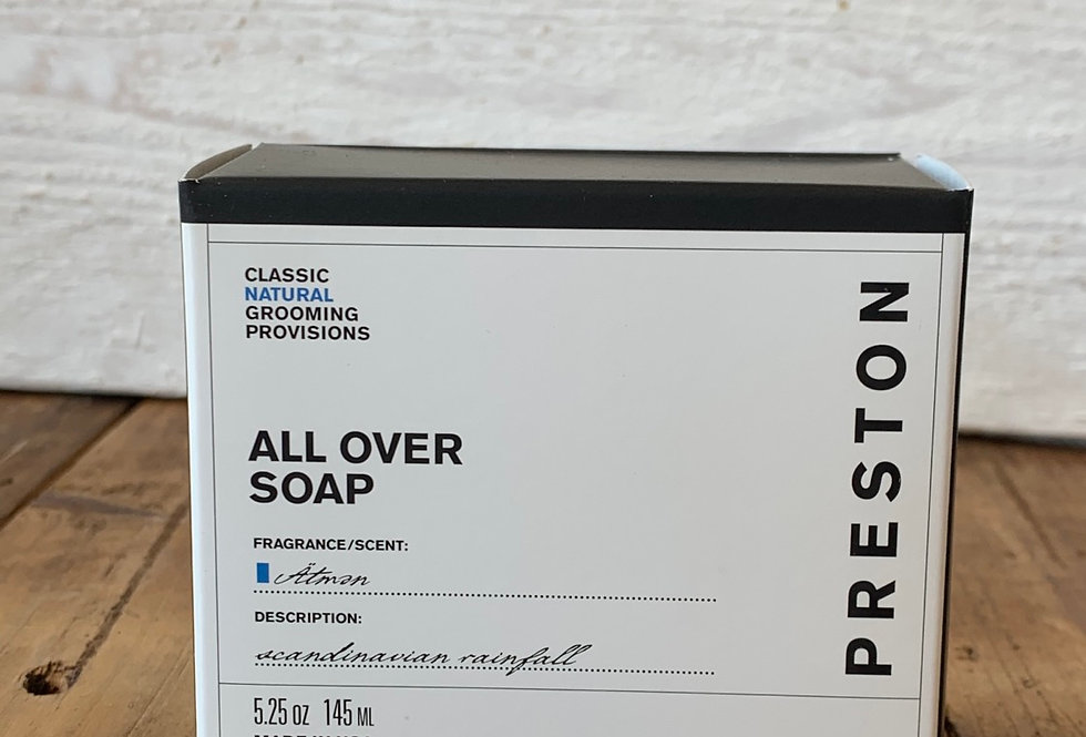 Preston Men's Line - All Over Soap Atman Scent