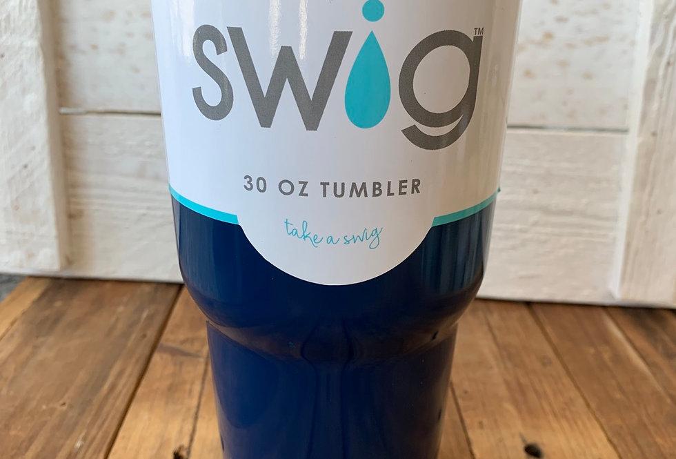 Swig Navy Tumbler (30 oz)