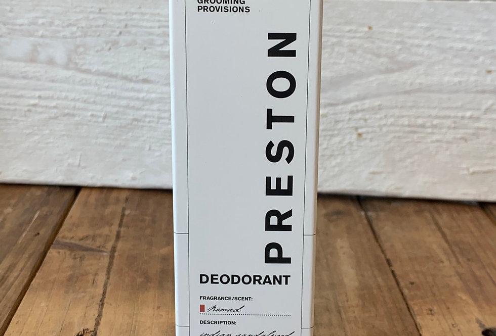 Preston Men's Line - Deodorant Nomad Scent