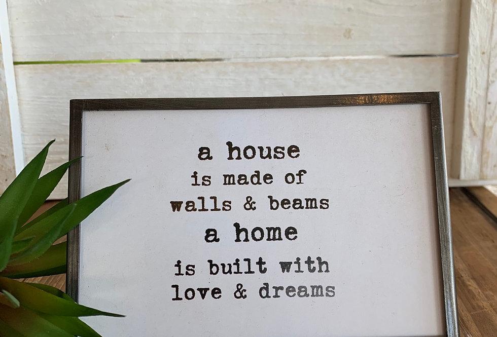 House Easel