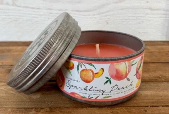 Tried & True Sparkling Peach Mini Candle