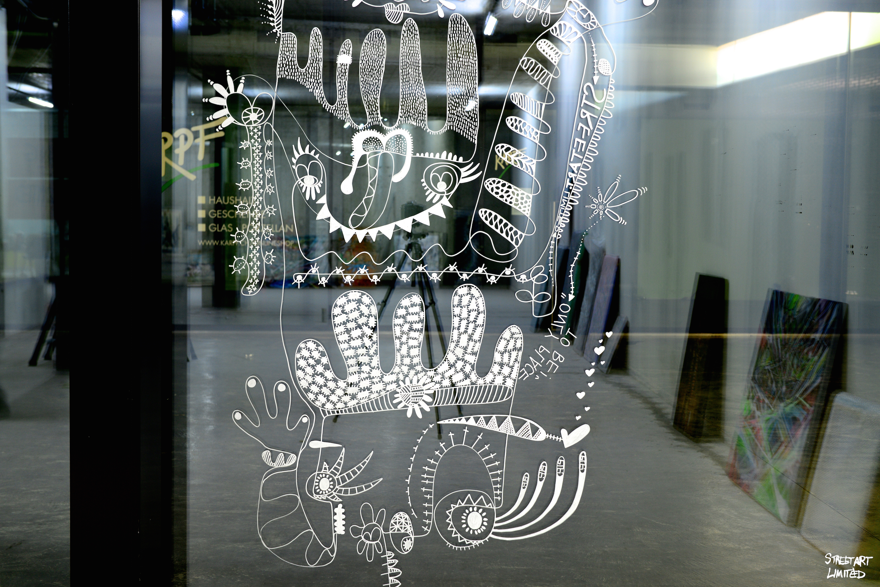 Our Window by ELF |Streetart.Limited