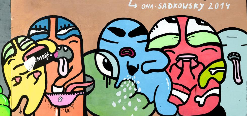 Ona Sadkowsky | Europaallee | Streetart.Limited