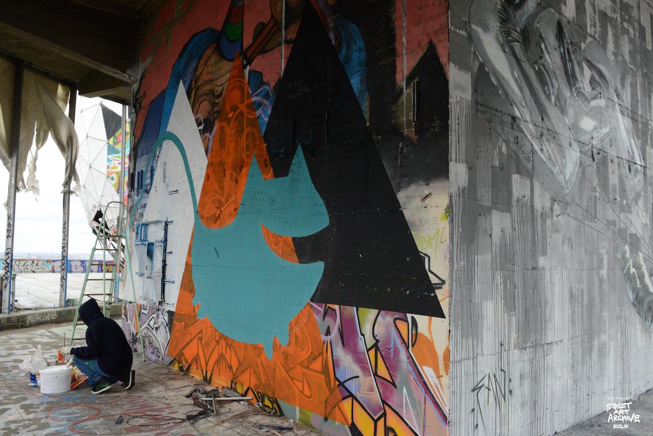TAINA, BerlinRising, Teufelsberg