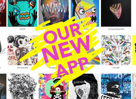 Unsere neue App ist da!