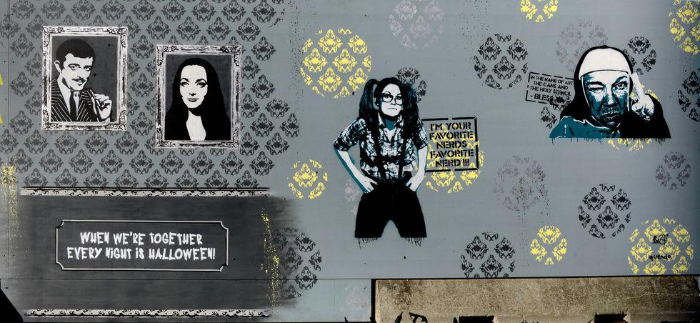'Fra und Quendo | Europaallee | Streetart.Limited`