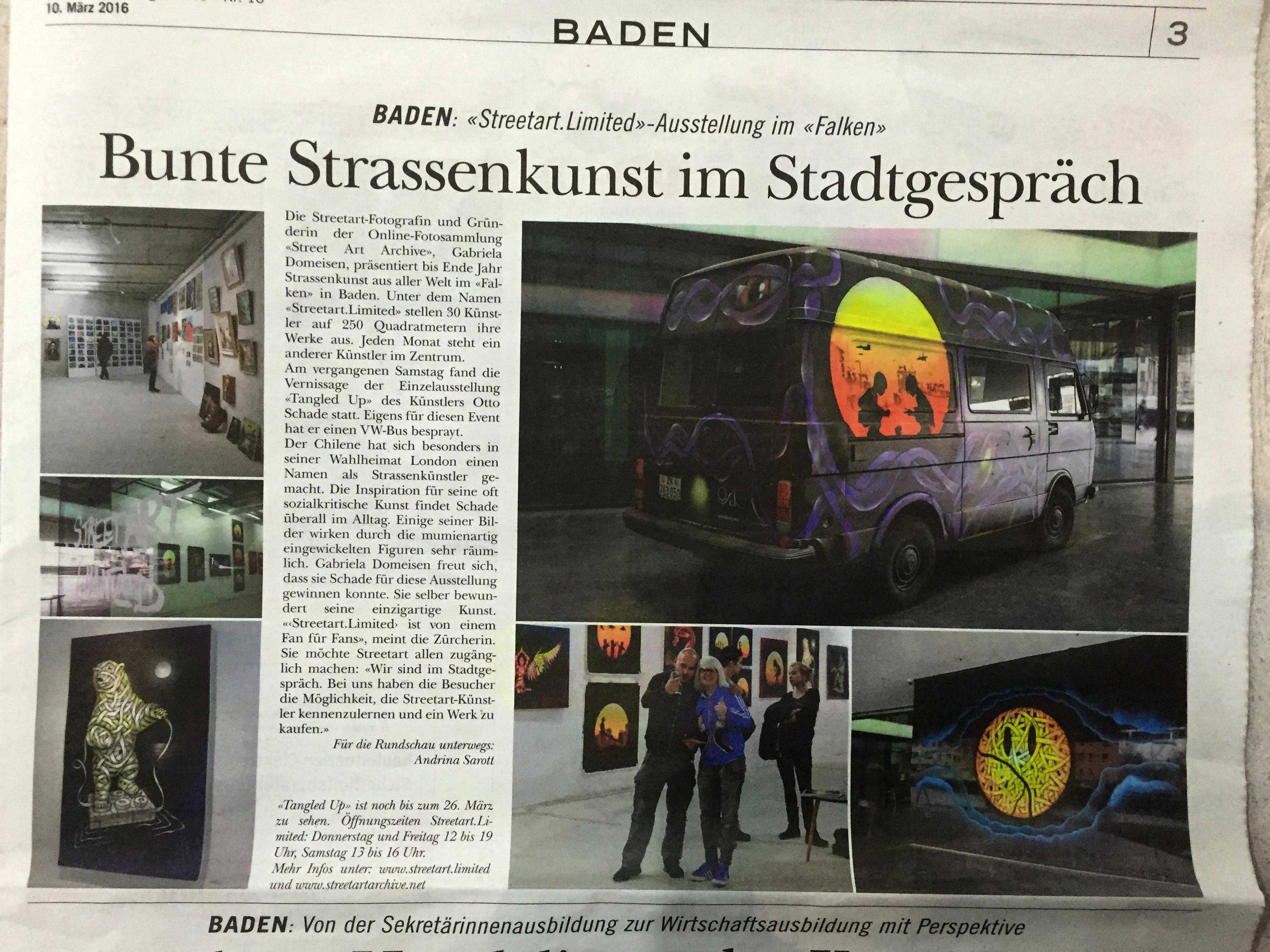 OTTO SCHADE | Streetart.Limited