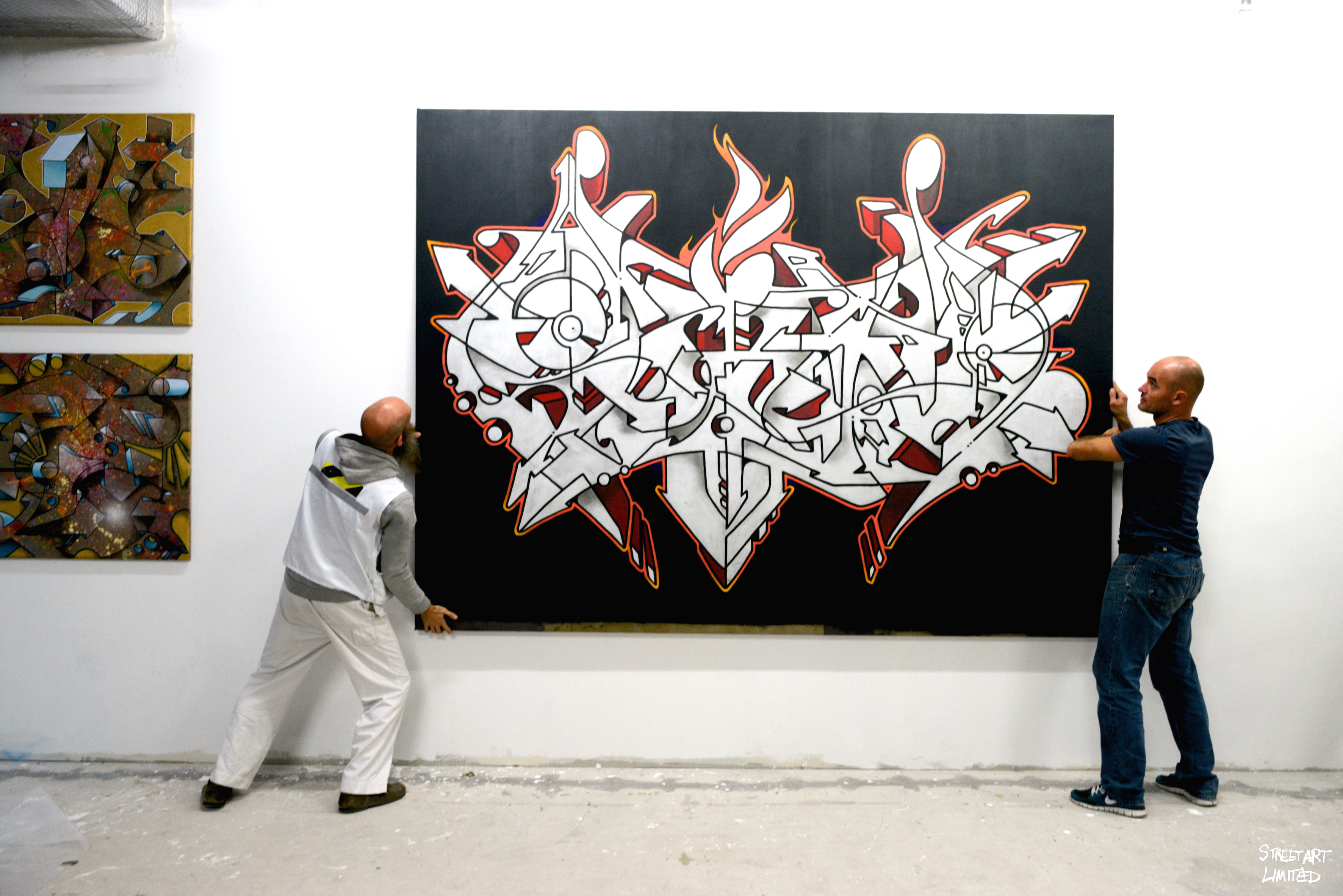 'The Beginning' | Streetart.Limited