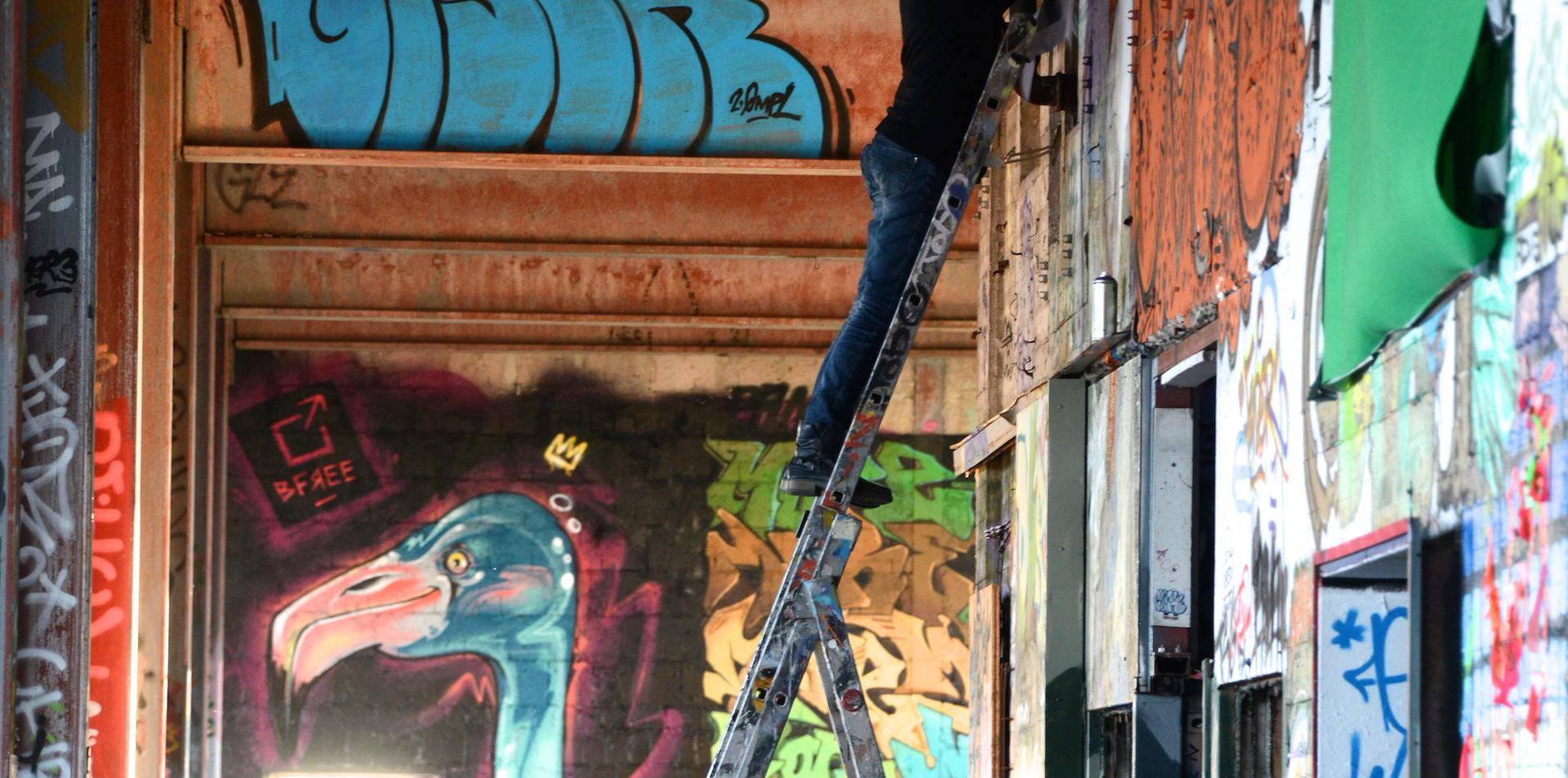 Artist: Caz.l (DE)   Unser Stilbruchfestival at Berlin Teufelsberg 2017  Powered by Streetart.Limited und Molotow